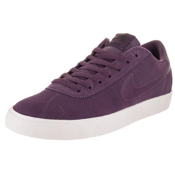 Nike Mens SB Bruin Air Zoom Premium SE Skate Shoes Pro Purple White Size 10