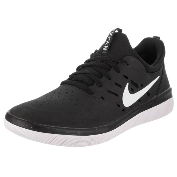 buy popular 38005 bd125 ... black white for men lyst. view fullscreen  nike sb nyjah free  nike sb  nyjah free  nike mens sb nyjah free skate shoe