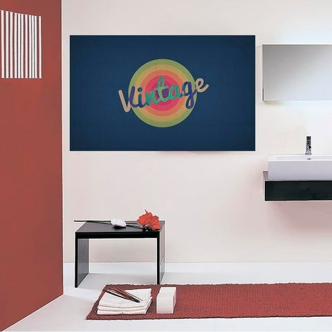 """Lettering Logo Full Color Wall Decal Sticker AN-642 FRST Size 30""""x47"""""""