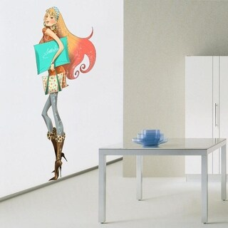 """Shop Fashion Full Color Wall Decal Sticker AN-631 FRST Size52""""x80"""""""