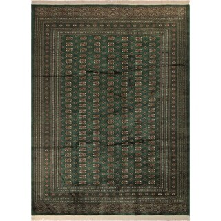 Bokara Arya Polaris Green/Gold Wool Rug - 9 ft. 1 in. x 12 ft. 1 in.