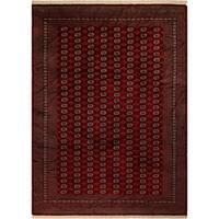 Bokara Arya Menkent Red/Gold Wool Rug (9'3 x 11'9) - 9 ft. 3 in. x 11 ft. 9 in.