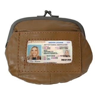 AFONiE - Soft Lambskin ID Change Purse