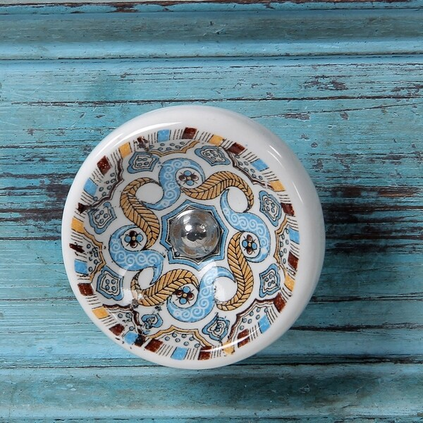 Birch Cabinet Novelty Ceramic Knobs (Set of 6) Beautiful design and ...