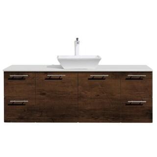 Eviva Luxury 60 Rosewood bathroom vanity