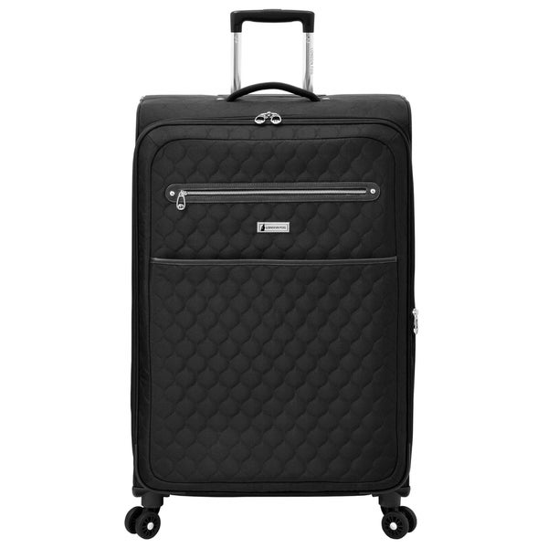 0d27b2123f7b5 Shop London Fog Calypso 28-inch Expandable Spinner Upright Suitcase ...