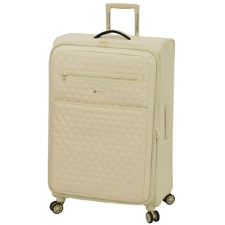 London Fog Calypso 28-inch Expandable Spinner Upright Suitcase