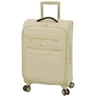 London Fog Calypso 20-inch Expandable Carry On Spinner Suitcase
