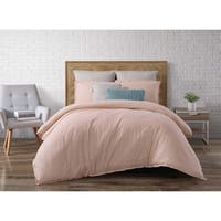 Brooklyn Loom Chambray Loft 3 Piece Comforter Set