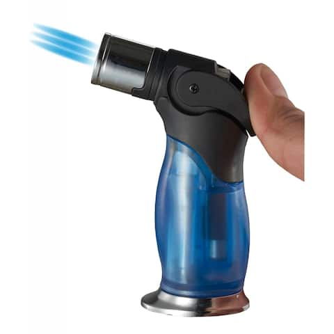 Visol Trigger Triple Flame Torch Lighter - Blue