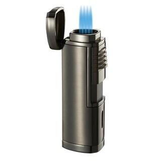 Visol Pyrgos Quad Flame Torch Lighter - Dark Grey