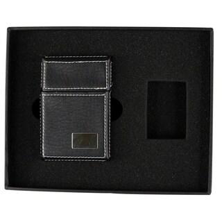Visol Cigarette Pack Holder and Zippo Migo Gift Set - Empty