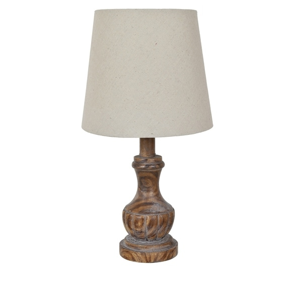 Brown 15-inch Table Lamp