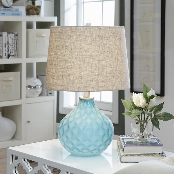 Jennifer Sea Blue 22-inch Table Lamp