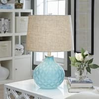 Jennifer Sea Blue 22-inch Table Lamp
