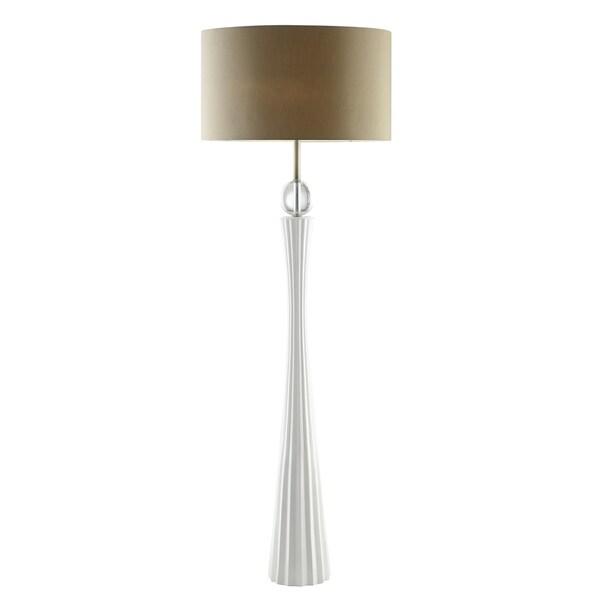 Harley White 58-inch Floor Lamp II