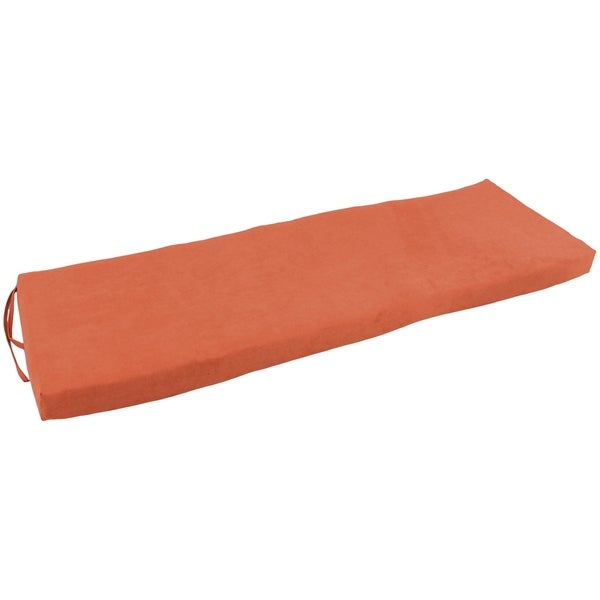 Blazing Needles 57-inch Microsuede Indoor Bench Cushion. Opens flyout.