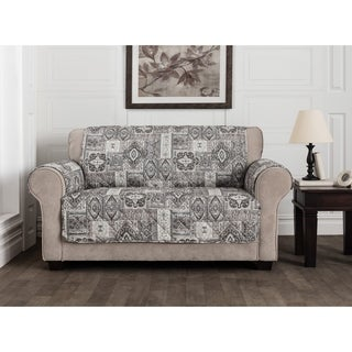 Manchester Slate Loveseat Furniture Protector Slipcover