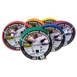 Dramm Colorstorm 5/8 in. Dia. x 25 ft. L Heavy Duty Garden Hose Kink Resistant