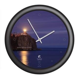 Chicago Lighthouse - Split Rock Lighthouse 14 inch decorative wall clock