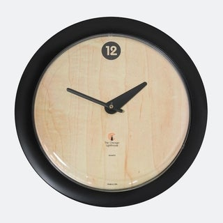 Chicago Lighthouse Birchwood Bauhaus 14 inch decorative wall clock