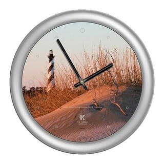 Chicago Lighthouse, Cape Hatteras Lighthouse 14 inch wall clock