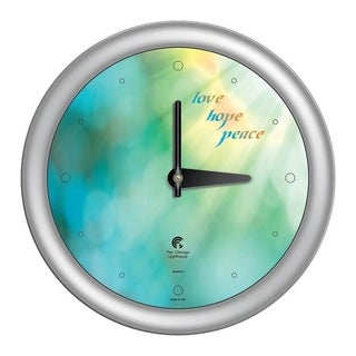 Chicago Lighthouse, Peace 14 inch decorative wall clock