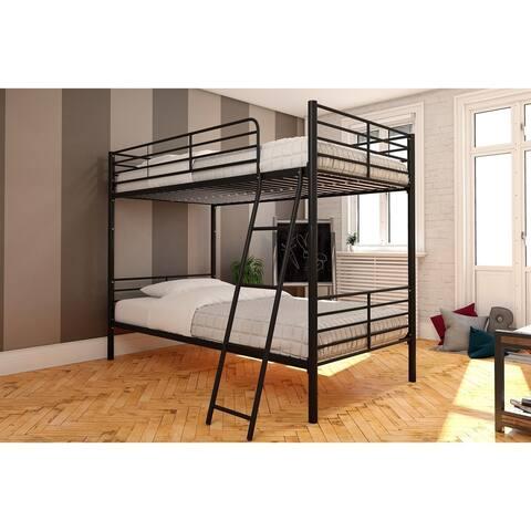 Avenue Greene Metal Twin over Twin Convertible Bunk Bed