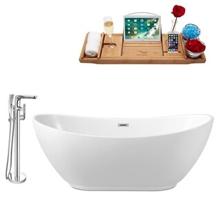 Streamline Freestanding Faucet and Tub Set