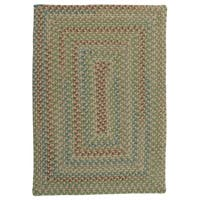 Mayflower Riverside Green Area Rug - 8' x 10'