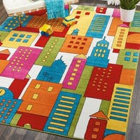 Nourison Miles Multicolor Kids Area Rug - 8' x10'
