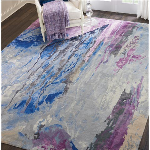 Nourison Hand-tufted Prismatic PRS11 Area Rug