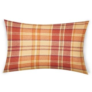 Buy Orange Plaid Throw Pillows Online At Overstock Com Our Best