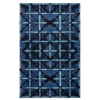 Carson Carrington Huddinge Area Rug - 5' x  8' (5' x 8' - Navy)