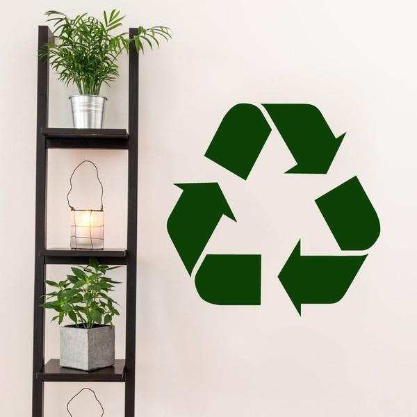 Recycle Symbol Decal - MEDIUM