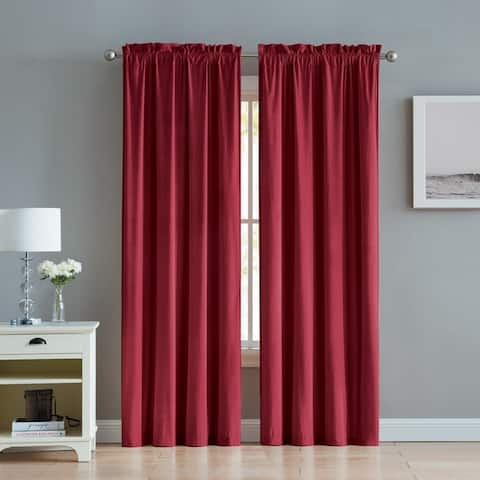 VCNY Home Chambray Panel Set - 84 Inches