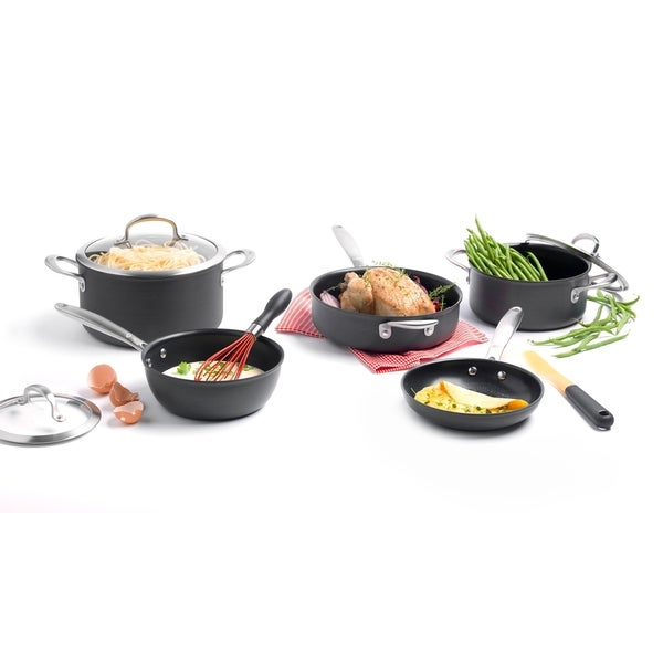 OXO Good Grips Non-Stick Pro 12-Piece Cookware Set. Opens flyout.