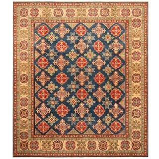 Handmade Kazak Wool Rug (Afghanistan) - 8'3 x 9'7