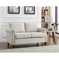 Cowie Classic Nailhead Loveseat