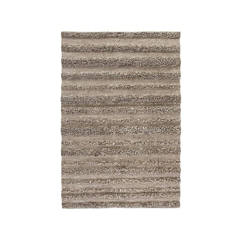 Jabari Natural Wool Shag Rug - 8' x 10'