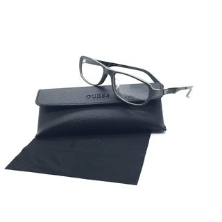 Guess Unisex Gray Rectangular New Eyeglasses GU 1779 55 Metal