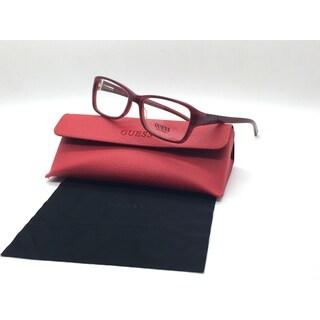 Guess Women Red Square New Eyeglasses GU 2274 BU 52 Plastic