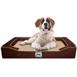 Sealy Lux Quad-layered Orthopedic Foam Jumbo X-Large Dog Bed