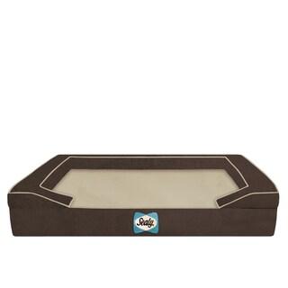 Sealy Lux Quad-layered Orthopedic Foam Jumbo X-Large Dog Bed