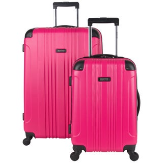 "Kenneth Cole Reaction ""Out of Bounds"" 2-Piece Lightweight Hardside Upright Spinner Luggage Set"