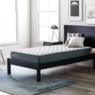 LUCID Comfort Collection 7-inch Queen-size Innerspring Mattress