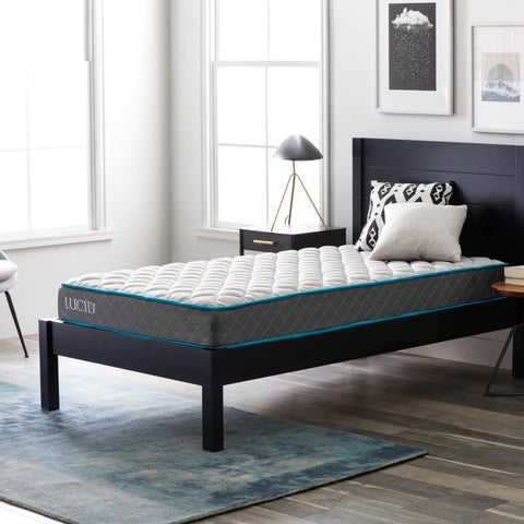 LUCID Comfort Collection 7-inch Twin-size Innerspring Mattress