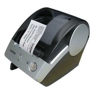 Brother P-Touch QL-500 Thermal Transfer Printer - Monochrome - Label|https://ak1.ostkcdn.com/images/products/2082534/P10372689.jpg?impolicy=medium