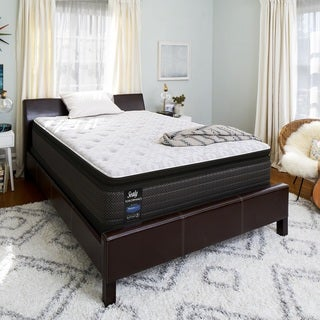Sealy Response Performance 14-inch Queen-size Plush Pillowtop Mattress Set Buy Queen Size \u0026 Boxspring Sets Mattresses Online at