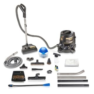 Reconditioned E Series E2 Gold 2 Speed Vacuum Cleaner with Rainmate Diffuser With New Aftermarket Tools & Attachments
